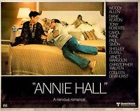 Original 1977 Lobby Card Annie Hall Movie Woody Allen Janet Margolin UA Film