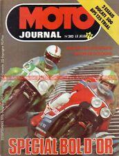 MOTO JOURNAL  282 DUCATI 500 Desmo ; BPS 125 ; SPECIAL BOL d'OR 1976