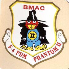 USAF F-4 PDM PHANTOM II BMAC Decal