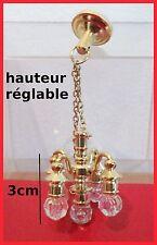 luminaire miniature,maison de poupée,lustre , non fonctionnel,décoration **CL8