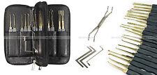 lockpicking locksmith lock pick set tools unlock door opener kit crochetage PRO