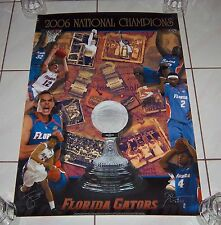 Florida Gators Basketball 2006 National Championship Poster Donovan Noah