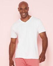 Gildan Patternless V Neck T-Shirts for Men