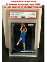 Charity Auction for 20 BK Cards & chance for a 2018 Prizm Luka Doncic Psa 10 RC
