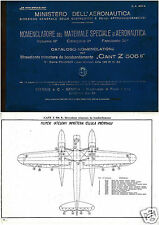 CANT Z.506 Italian Flying Boat Service Manual historic period archive 1940's