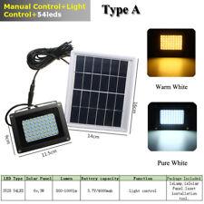 54/120/150 Solar Power LED Light Sensor Flood Spot Garden Outdoor Security Lamp
