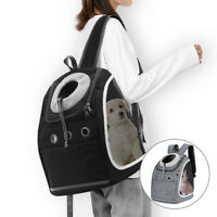 Breathable Pet Travel Backpack Bag Cat Puppy Dog Carrier Rucksack Shoulder Bag