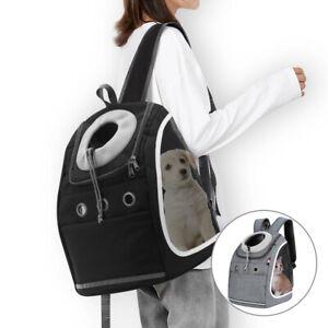 Breathable Pet Travel Backpack Bag Cat Puppy Dog Carrier Rucksack Shoulder Bag