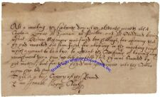 1654 Massachusetts document - young man is fine for lying to avoid punishment