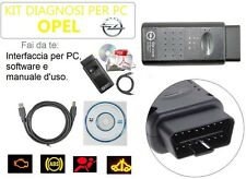 CAVO DIAGNOSI AUTO NUOVO V1.99 INTERFACCIA OBD SPECIFICA OPEL PROFESSIONALE