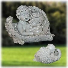 ENGEL Engelfigur Dekofigur Dekoengel Skulptur Polystein Neu+Patina 12 cm - Z-003