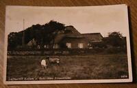 alte AK Keitum auf Sylt Altes Friesenhaus gel. 1940 Olbersdorf Zittau