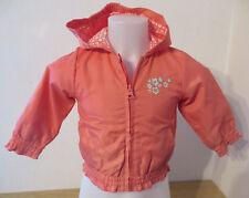 BERTI ° hübsche Sommerjacke Gr. 80 orange Kapuze Mädchen Mode Kleidung Jacke TOP