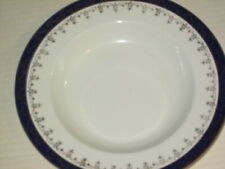 """REPLACEMENT CHINA STARTER PLATE """"Bleu de Roi"""" Alfred Meakin 1950s"""