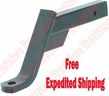 """Trailer Tow Hitch Ball Drop Down Mount Towing Hauling Fits 2 in Receiver 6"""" Drop"""
