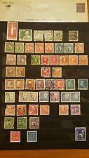 Lot de timbres de Suède / Sverige
