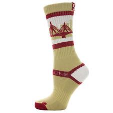 Strideline Athletic Crew Socks Boston Eagles 1100511 Strapped Fit Men's College