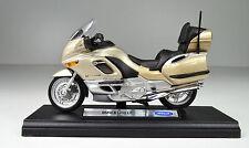 BMW K 1200 LT Farbe champagner Maßstab 1:18 Motorradmodell von Welly