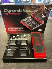 More details for vox dynamic looper vdl-1 effects fx pedal processor guitar loop pedal