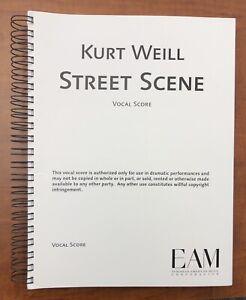 Street Scene - Vocal Score