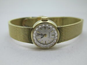 LADIES 10K Gold Filed  OMEGA LADYMATIC AUTOMATIC SWISS WATCH CIRCA 1969 CAL. 660