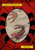 Fleer Ultra Single Comic Cut Panel 1964 Amazing Spider-Man #14 Green Goblin CP6