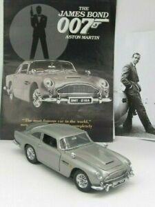 *JAMES BOND 007 ASTON MARTIN DB5 by Danbury Mint - Nearest mint with extras +