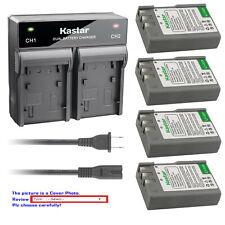 Kastar Battery AC Rapid Charger for EN-EL9a MH-23 & Nikon D60 SLR Digital Camera