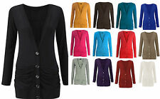 Unbranded Button Thin Knit Jumpers & Cardigans for Women