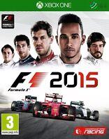 F1 2015 Formula 1 Xbox One * NEW SEALED PAL *