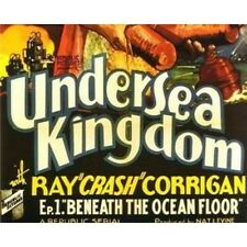 "Undersea Kingdom - Classic Cliffhanger Serial Movie DVD Ray ""Crash"" Corrigan"