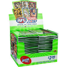 AFL - 2017 Team Booster Display - Box of 36 Packs (9 cards per pack) Team Zone