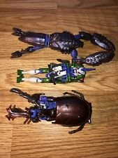 Transformers Beast Wars ULTRA TRIPREDACUS Vintage Set Lot