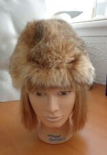 MINT MONTANA LYNX FUR HAT WOMEN WOMAN SIZE ALL