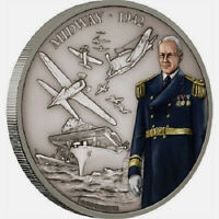 Niue- 2018 - Silver $2 Proof Coin - 1 OZ Battle of Midway