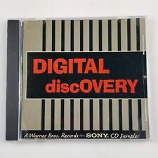 Digital Discovery PROMO CD music audio w/ Madonna First Japan PRO-CD-2294 RARE