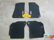 2020 Jeep Gladiator Black Premium Front & Rear Carpet Floor Mats New Mopar OEM