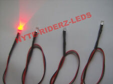 RED LED INTERIOR LIGHTS FITS ACURA  ALL MAKES & MODELS 5MM WIDE ANGLED LEDS
