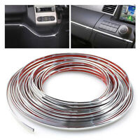 6mm Car Styling Chrome Strips Decoration Trim Cover DIY Auto Body Sticker Bumper