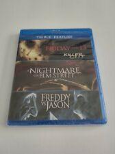 Friday the 13th/Nightmare on Elm Street/Freddy vs. Jason (Blu-ray Disc, 2012, 3…
