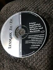 Lexmark Z22 Z32 Printer Installation CD
