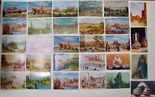 32 Vintage William Mewhinney Art Postcards Unposted DBs Arizona Navajo Rez