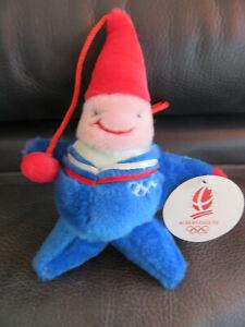 Winter Olympics 1992 Albertville - Rare mascot magique + glass (limited edition)