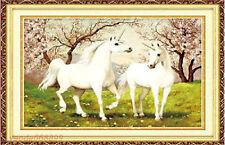 "NEW Cross Stitch Kits""The unicorn in love"""