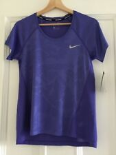 Women's  NIKE RUNNING DRY Top Dri Fit  Size Small