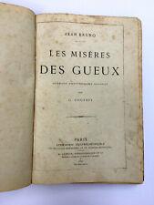 Les misères des gueux / Bruno, 59 gravures, illustrations de Courbet / 1872 / EO