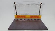 FRG 1:43 A/E Straight F1 Model Track Diorama Base Crash Barrier & Safety Fencing