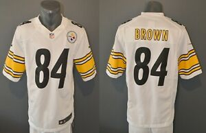 Antonio Brown Pittsburgh Steelers Nike NFL American Football Game Jersey Size S