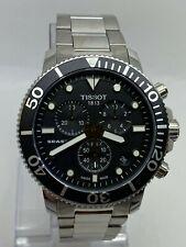 Tissot Seastar 1000 Chronograph T120.417.11.051.01 Black Dial Men's Watch