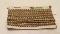 Rare card of vintage Edging Braid 1.5cm wide x 7 meters for Upholstery & Crafts.